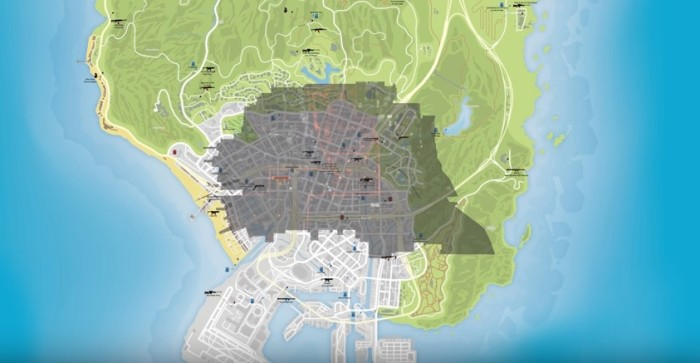 Fallout 4 Map Size Vs Gta 5 Greatmultifiles